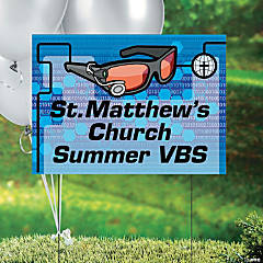 Agents of Truth Personalized VBS Yard Sign
