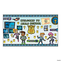 Agents of Truth VBS Bulletin Board Set