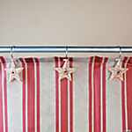 Americana Shower Curtain Hooks