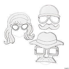 Color Your Own Disguise Masks