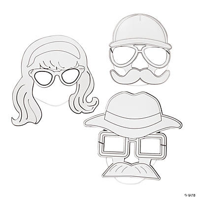 DIY Agents of Truth VBS Disguise Masks