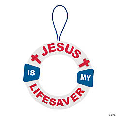 Jesus Is My Life Saver Sign Craft Kit
