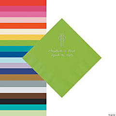 Religious Wedding Personalized Napkins