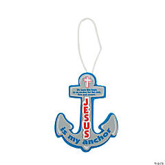 Anchor Ornament Craft Kit