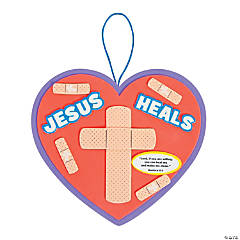 Jesus Heals Sign Craft Kit