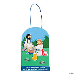 Jesus Washed Disciples Feet Craft Kit