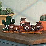 Southwestern Welcome Tabletop Décor