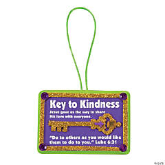 Key To Kindness Ornament Craft Kit