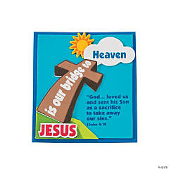 Jesus Is our Bridge Magnet Craft Kit