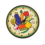 Vegetable Garden Wall Clock