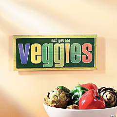 Veggies Wall Sign