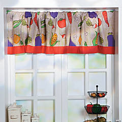 Vegetable Garden Valance