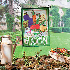 Mini Vegetable Garden Flag