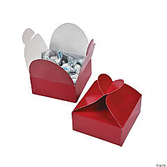 Red Heart Wedding Favor Boxes