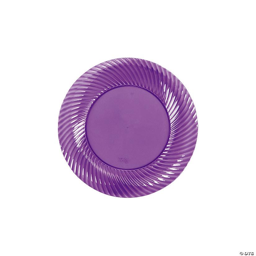 sc 1 st  Oriental Trading & Plastic Purple Dessert Plates