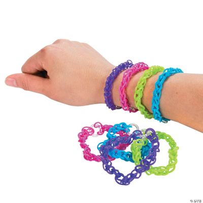 Bright Fun Loops Bracelets