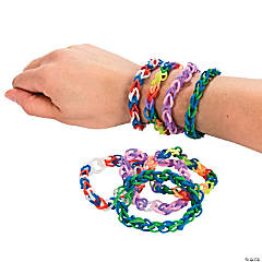 Multicolor Fun Loops Bracelets
