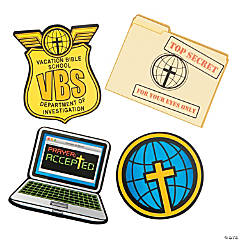 Agents of Truth VBS Bulletin Board Cutouts