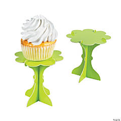 Mini Lime Green Cupcake Pedestals