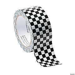 Black & White Check Duct Tape