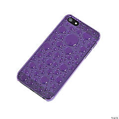 Plastic Purple Bubble iPhone® 5 Case