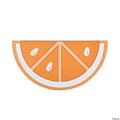 "Semi Circle ""Orange Slice"" Craft Kit"
