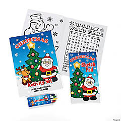 Paper Holiday Activity Sets
