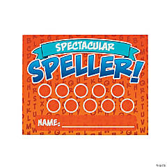 Spelling Punch Cards