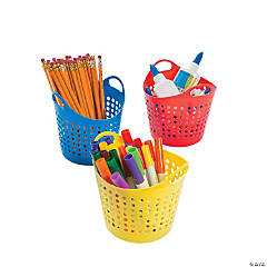 Round Classroom Storage Baskets