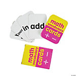 Math Vocabulary Card Decks