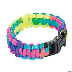 Large Multicolor Paracord Bracelets