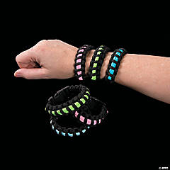 Small Glow-in-the-Dark Paracord Bracelets