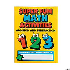 Addition & Subtraction Activity Books
