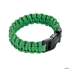 Large Green Paracord Bracelets