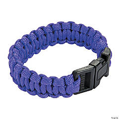 Large Purple Paracord Bracelets