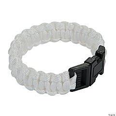 Large White Paracord Bracelets
