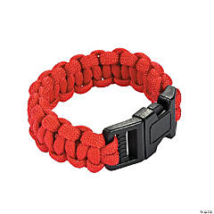 Nylon Small Red Paracord Bracelets