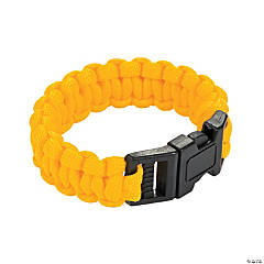 Small Yellow Paracord Bracelets