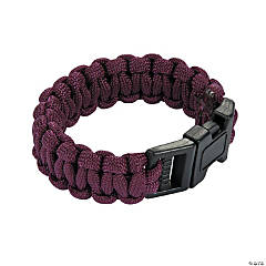 Small Burgundy Paracord Bracelets