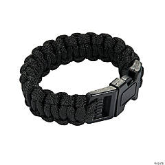 Small Black Paracord Bracelets