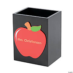 Personalized Teacher Pencil Holder