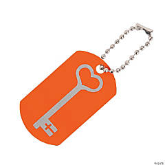 Wild Wonders Day 3 VBS Dog Tag Key Chains