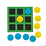 Foam Smile Face Tic-Tac-Toe Games