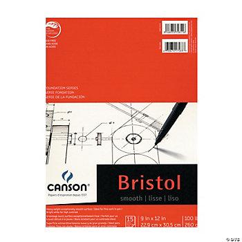 Canson Smooth Bristol Pad, Art Paper, Art Supplies ...
