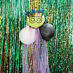 Mardi Gras Mask Lanterns Idea