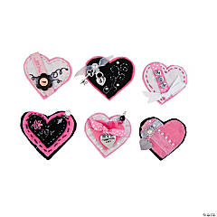Felt Heart Pins Idea