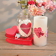 Valentine Candle Idea