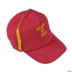 "Burgundy ""Class of 2014"" Graduation Baseball Cap"
