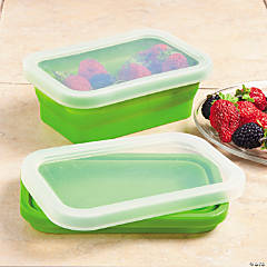 Collapsible Bowl with Lid