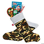 Personalized Camo Christmas Stocking